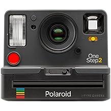 Polaroid Originals i-Type OneStep 2 - Cámara instantánea con flash integrado, color gris grafito