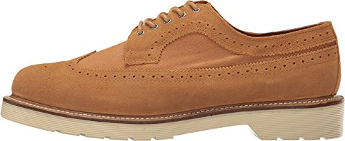 Dr. Martens 3989, Richelieu Mixte Adulte chestnut hi suede wp canvas