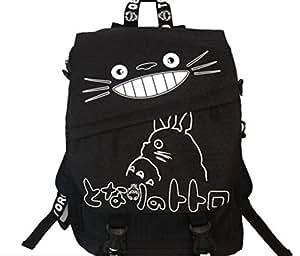 MAKKA mon voisin tOTORO cartable sac à dos épaule unisexe noir