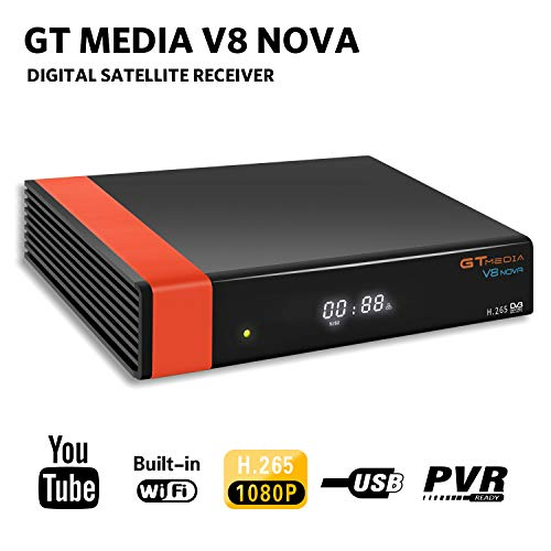 GT Media V8 Nova DVB-S2 Decodificador Satélite