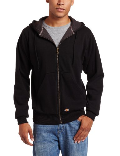 WILLIAMSON DICKIE MFG. - Fleece Jacket, Hooded, Fleece-Lined, Black, Men's