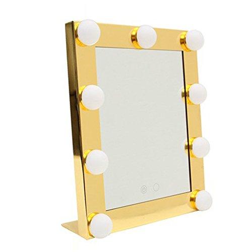 Meng wei shop specchio per il trucco specchio da trucco per il desktop specchietto per il trucco led hd con il trucco leggero riempire lo specchio luminoso specchi da trucco per la casa