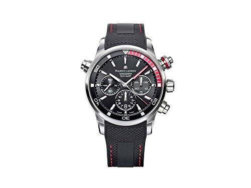 Reloj Automático Maurice Lacroix Pontos S Chronograph , ML 157, Día, Negro-rojo