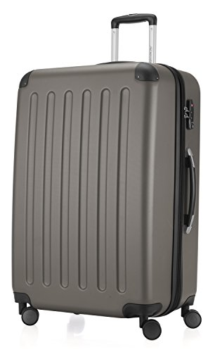HAUPTSTADTKOFFER - Spree - 3er Koffer-Set Trolley-Set Rollkoffer Reisekoffer Erweiterbar, TSA, 4 Rollen, (S, M & L), Graphite,235 Liter - 4