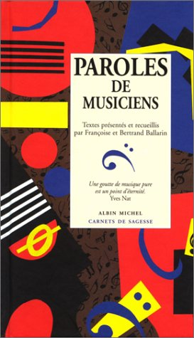 Paroles de musiciens