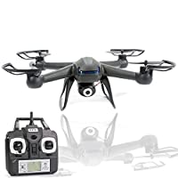 """NightHawk RC Quad Copter 3rd Gen The X-007 Quad Copter sized 8"""" x 8"""" with camera has excellent flying abilities and outstanding features. Not only has an elite outlook, but also powerful motors, flexible actions and steady performance. This Second Ge..."""