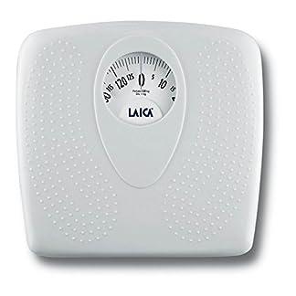 41H4Lyi4hoL. SS324  - Laica - Bascula baño mecanica PL8019 blanca
