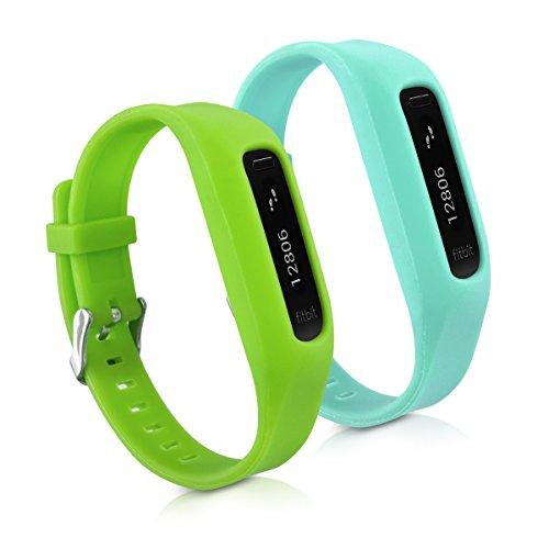 kwmobile-2en1-2-brazalete-deportivo-de-repuesto-para-fitbit-one-en-verde-azul-claro-dimensiones-inte
