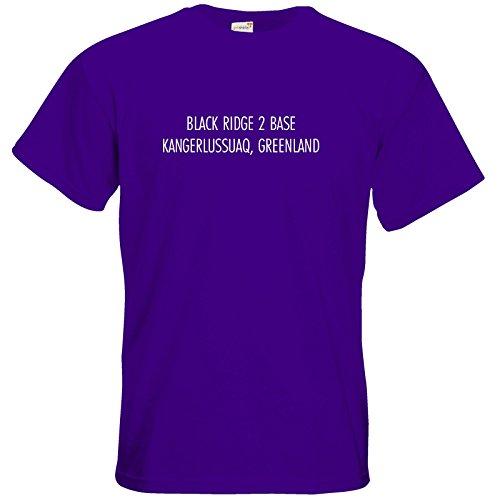 getshirts - Datacorp - T-Shirt - Black Ridge 2 Datacorp Purple