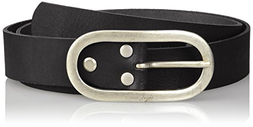 Cross Jeans Damen 0380K Gürtel, Schwarz (Black 020), (Herstellergröße: 80)