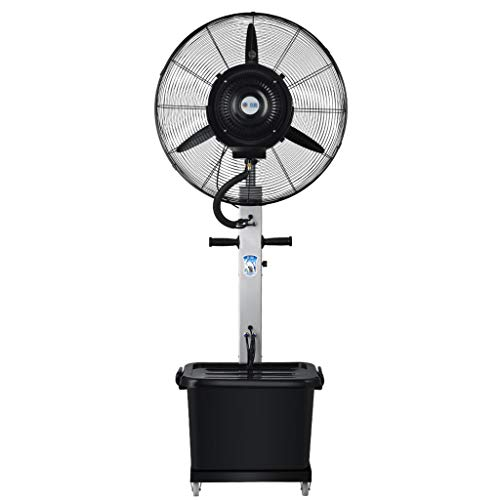 Jyfsa Ventilador oscilante Que enfría silencioso 180cm / Ventilador humidificador Industrial/Ventilador de Torre de Piso, para Uso Comercial e Invernadero