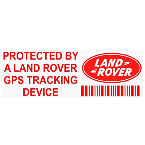 89b92c17a6 5 X Pplandrovergpsred GPS Redtracking Stickers dissuasifs 87 x Installed on  This Vehicle
