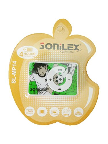 Sonilex High Quality Clip Style MP3 Player + USB Cable & Earphone