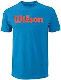 Wilson Script Cotton T-Shirt Homme