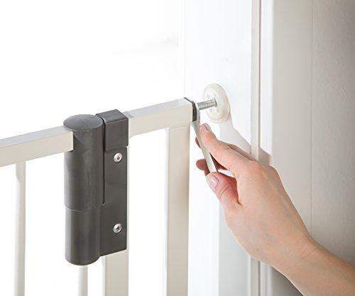 Geuther Easylock Türschutzgitter weiß - 4