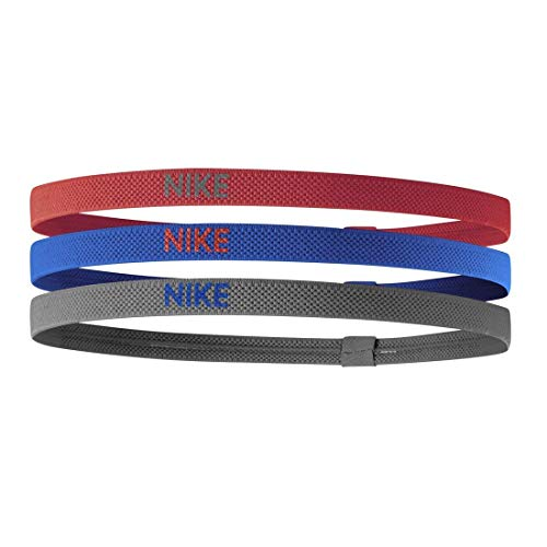 Nike Elastic Hairbands track red/game royal/iron grey 3 Pack