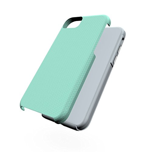 DaYiYang Pour iPhone 7 PC + TPU Ball Texture Anti-slipProtective Back Cover Case ( Color : Purple ) Green