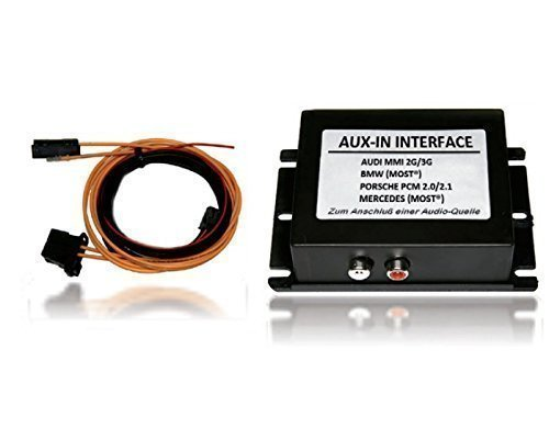 AUX IN Interface auf Lichtwellenleiter Basis MMI 2G High