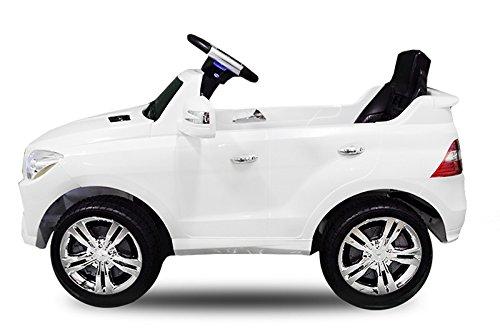 RC Kinderauto kaufen Kinderauto Bild 1: Toyas Lizenz Kinderfahrzeug Mercedes Benz Jeep SUV ML350 Kinderauto Elektroauto 2X 25W Motor Fernbedienung MP3 Anschluss in Schwarz*