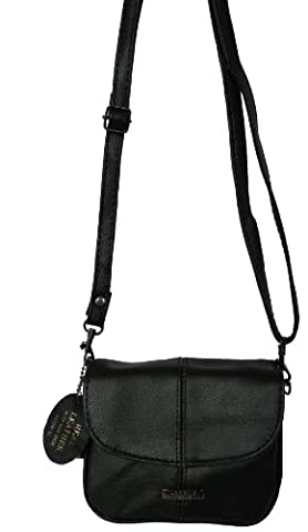 Small Leather Flapover Bag -