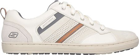 Skechers Sorino Evole, Baskets Basses homme Blanc