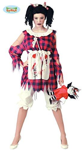 Horror Puppe Kostüm für Damen Gr. M/L, Größe:L
