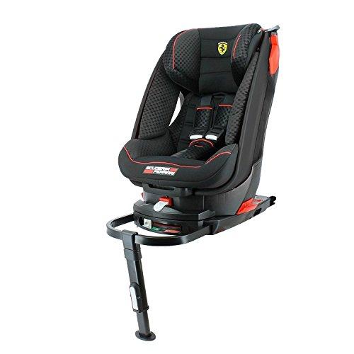Asiento de coche para Ferrari inclinable grupo 1(9 a 18kg) con base Isofix,4estrellas en los tests TCS, protección lateral
