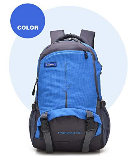 jarvanzz Rucksack, große Kapazität, ultraleichter Outdoor-Sportrucksack, für Reisen, Trekking, Wandern, Camping, Klettern, Bergsteigen, für Männer, Frauen und Studenten