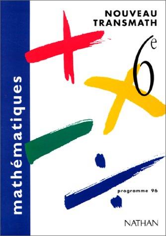 Nouveau Transmath, 6e, programme 1996