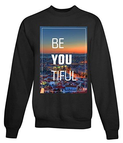 Billion Group | Beautiful Lisbon Portugal | City Collection | Women's Unisex Sweatshirt Noir