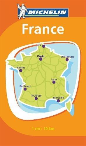Mini carte de France par Collectif Michelin