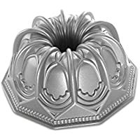 NordicWare Molde/Forma/Tartas Molde–Cúpula, Aluminio, Plata, 24x 24x 10,2cm, 1Unidades