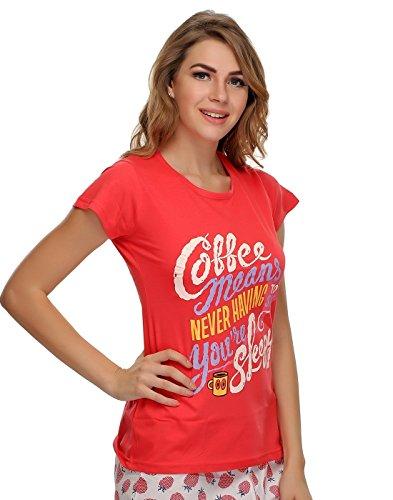 Clovia Clovia Women Pack Of 2 T-shirt's