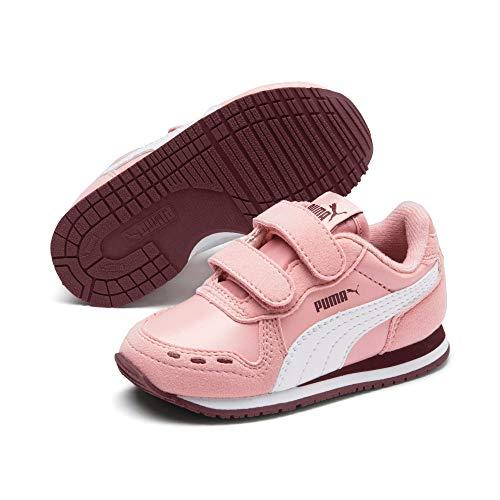 inder Cabana Racer Sl V Inf Sneaker, (Bridal Rose-Puma White-Vineyard Wine 79), 8.5 EU ()