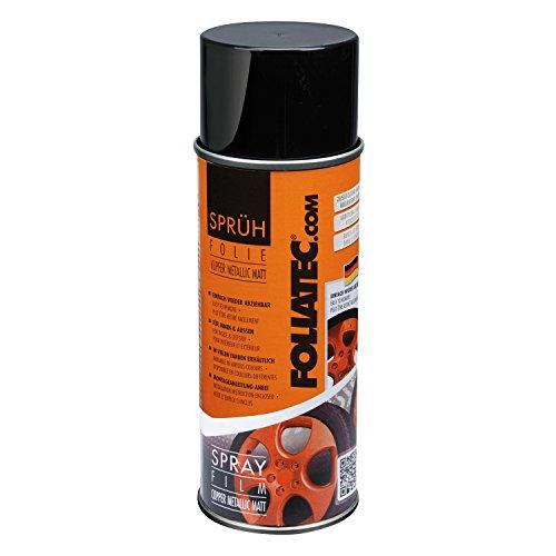 Preisvergleich Produktbild Foliatec 2033 Spray Schutzfilm Felge, Kupfer Metallic Matt