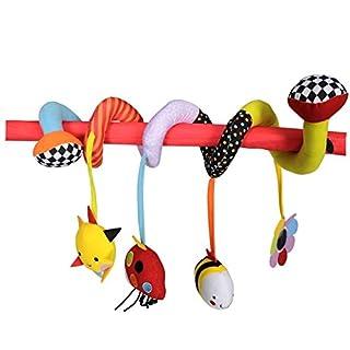RedKite Garten Bande Twisty spiraloo Activity Spielzeug ideal für Autositze und Kinderwagen