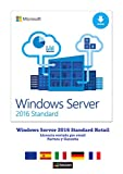Windows Server 2016 Standard 64 Bits Retail (ESD) Entrega electrónica de software Download
