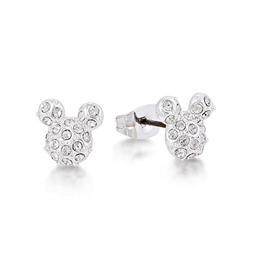 Arranview Mickey Mouse Pendientes con kristallpav de Disney Couture