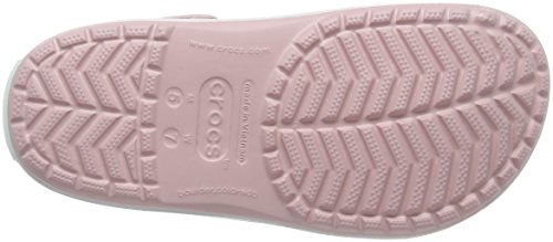Crocs CR. 11016, Ciabatte Unisex – Adulto Rosa (Pearl Pink/Wild Orchid)