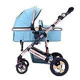 High Landscape Stroller Kann Sich Mit Dem Falten Von Four-Wheeled Baby, Reisesystemen, Abfinden Lassen