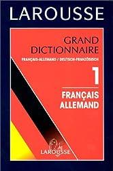 Grand Dictionnaire, tome 1 : Français-Allemand