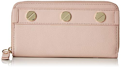 Liebeskind Berlin Damen Ring Aruba Wallet Large Geldbörse, Pink (Dusty Rose), 3x10x19 cm