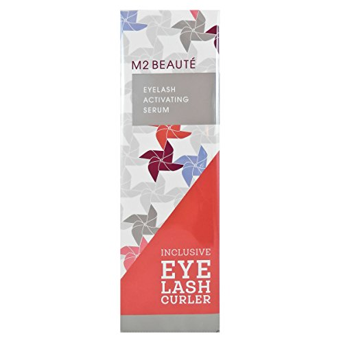 M2 BEAUTÉ Eyelash ActivSerum und Wimpernzange, 1er Pack (1 x 5 ml)
