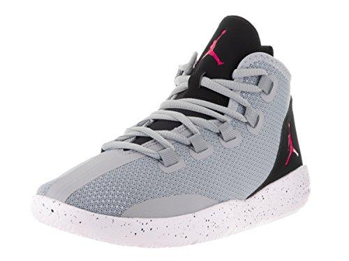 Nike Jordan Reveal Gg, Scarpe da Basket Bambina Gris (Wolf Grey / Vivid Pink-Black-White)