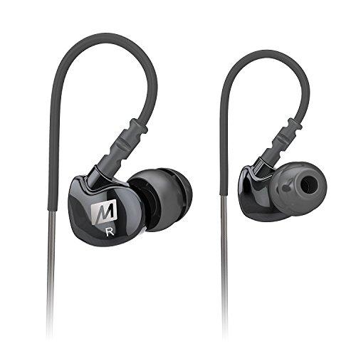 MEE Audio M6 Stylish Sound Isolating Sport Kopfhörer Farbe SCHWARZ