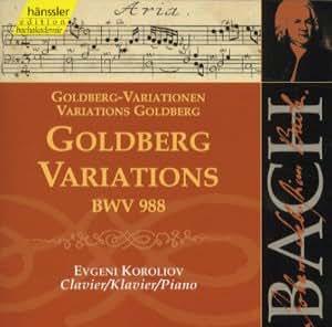 Bach: Goldberg Variations BWV 988 (Edition Bachakademie Vol 112) /Koroliov (piano)