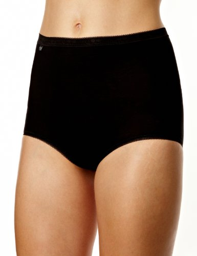 Sloggi Sloggi Maxi Brief Women's Briefs Black 16