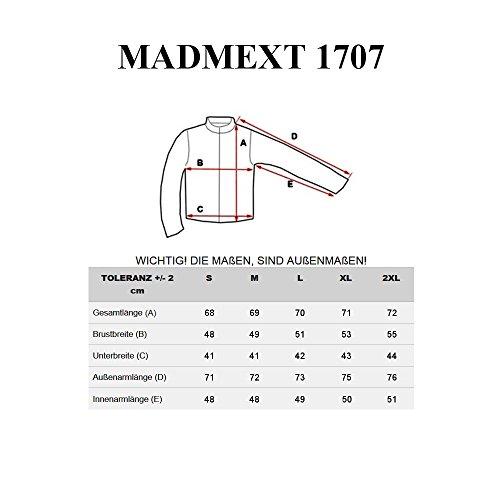 BOLF Herrenpullover Sweatshirt Sweatjacke Langarm Pullover MADMEXT 1226 Grau_1707
