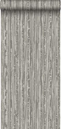 Tapete Streifen Braun und Gold - 346640 - von Origin - luxury wallcoverings