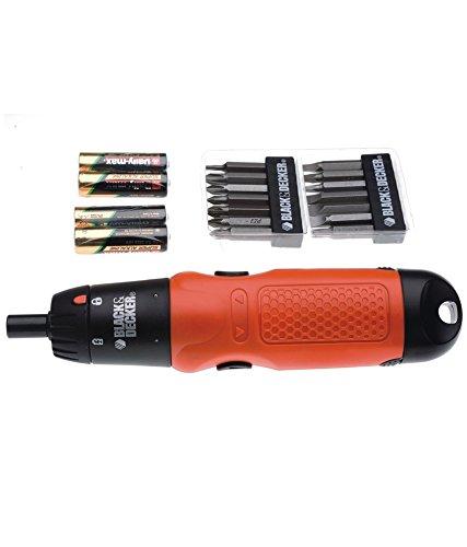 Black & Decker Battery Powered Screwdriver A7073